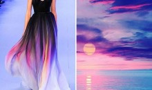 Fashion creations inspired by nature