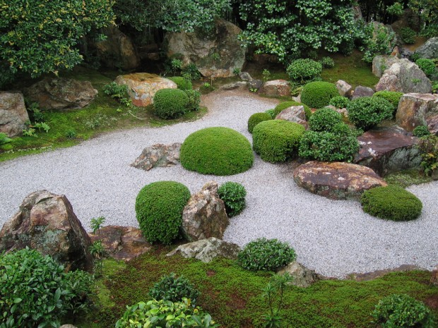 Miniature zen garden for your desk for Jardin japonais miniature