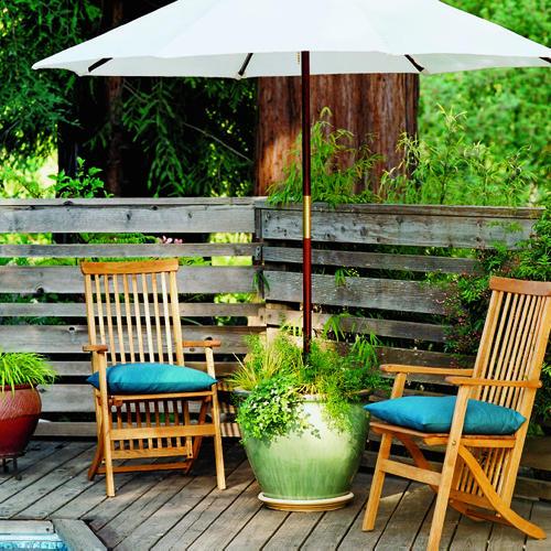 Flowerpot Umbrella Stand 2