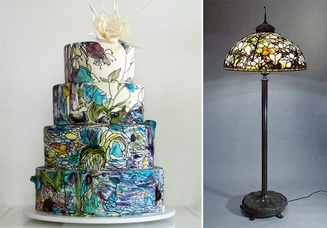 Art Inspired Cakes Decoration