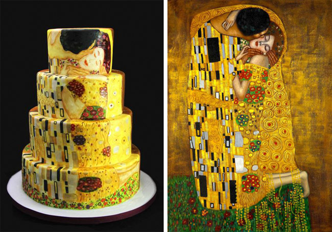 Artist Cake Design : Art Inspired Cakes Decoration