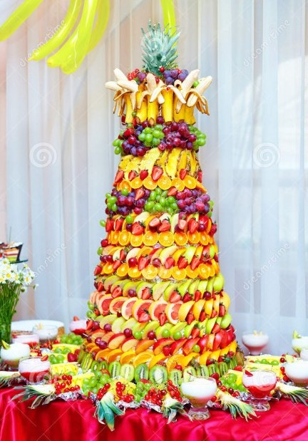 decorative fruit cakes 2
