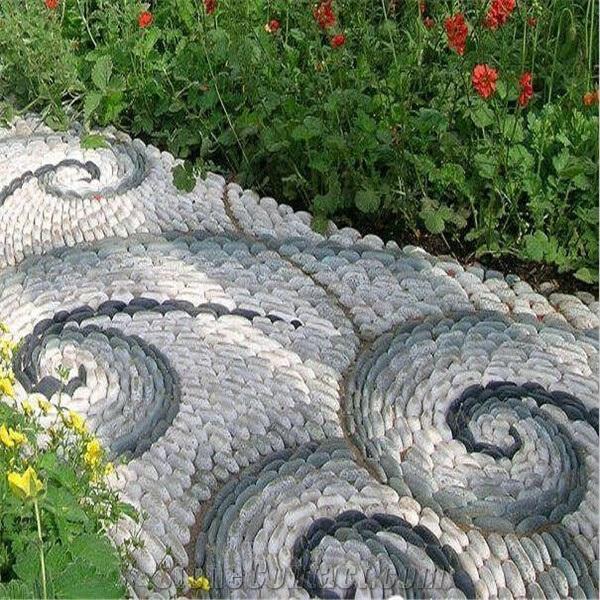 Garden Design Ideas With Pebbles: Decorative Garden Paths And Walkways