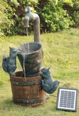 solar garden fountains site for everything