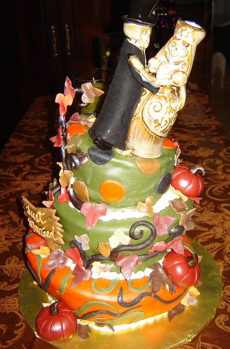 Want An Unusual Wedding Cake Like No Other