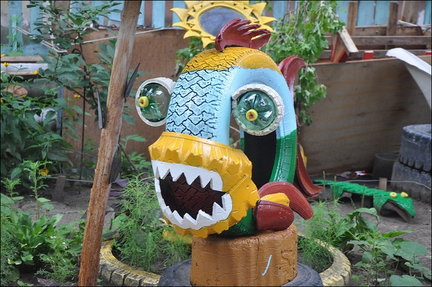 DIY playground, garden 1