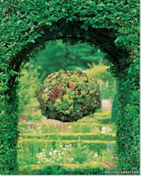 Hanging Flower Spheres 7