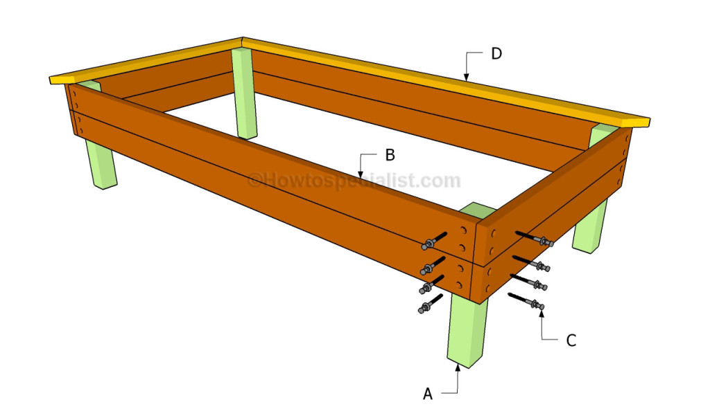 Build install raised garden beds for Raised bed plans