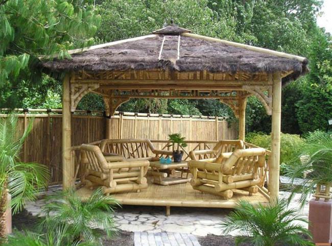 bamboo furniture for the garden1