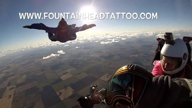 Freefall Tattoo 2