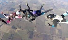 (Video) – Daredevil Artist Completes a Tattoo While Skydiving!!!
