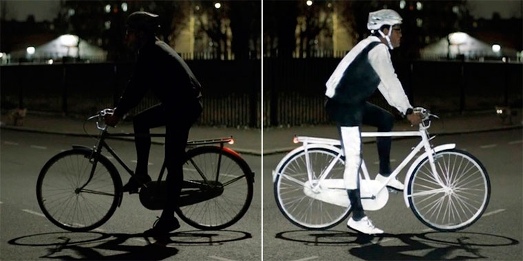 Volvo LifePaint: A Revolutionary Product Aimed At Cyclist ...