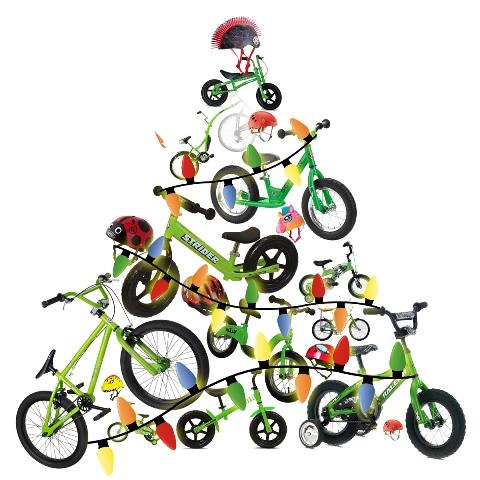Xmas Bike Decor 6