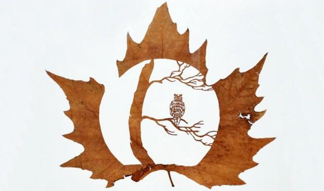 Leaf Artwork 1