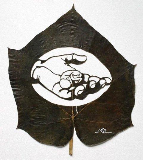 Leaf Artwork 12