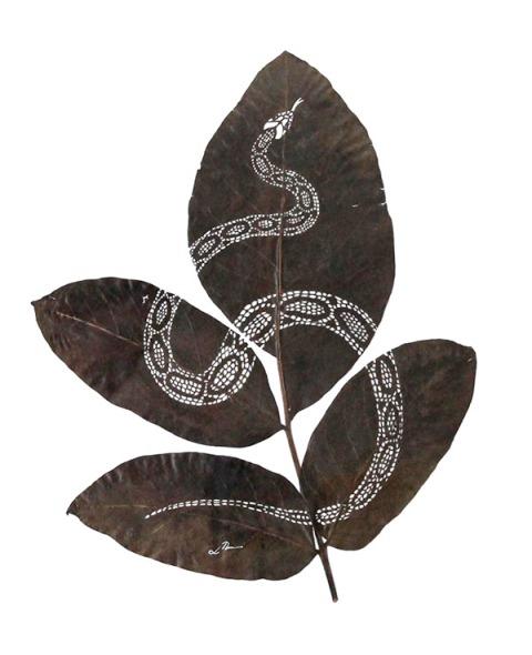 Leaf Artwork 14