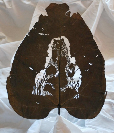 Leaf Artwork 2