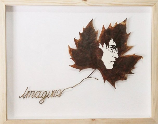 Leaf Artwork 6