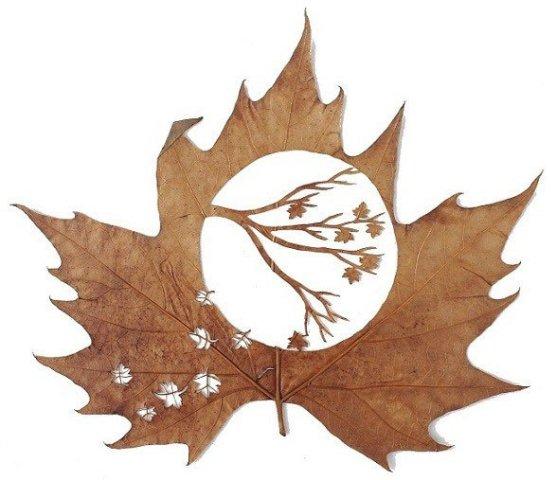 Leaf Artwork 7