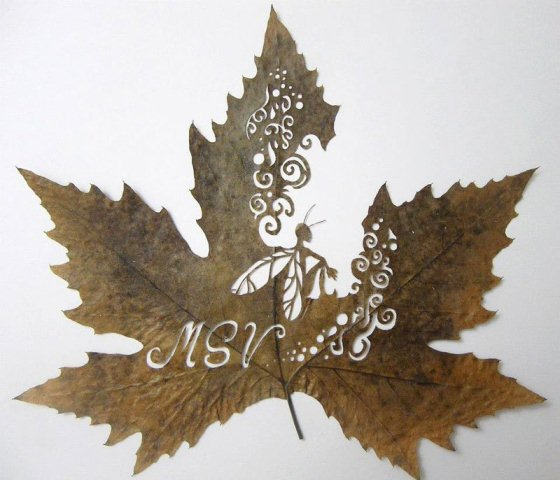 Leaf Artwork 9