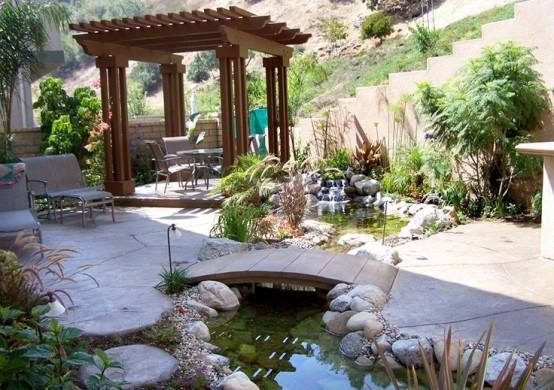 Backyard Pond 1