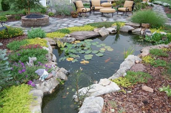 Backyard Pond 17
