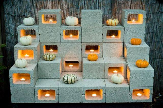 Diy Patio Furniture Cement Blocks