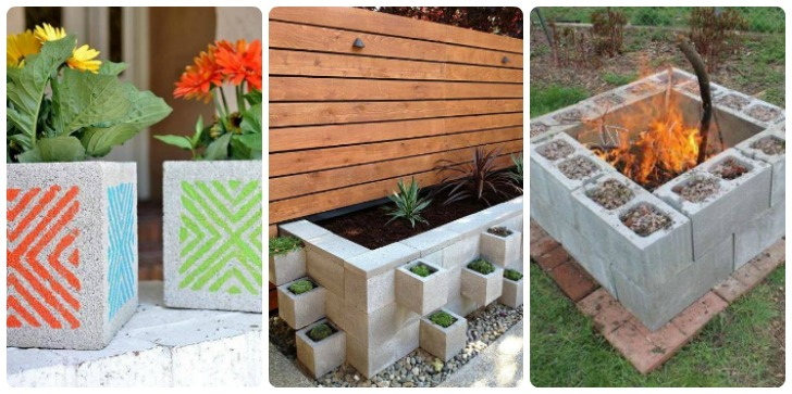10 Brilliant DIY Garden Projects Using Cinder Blocks
