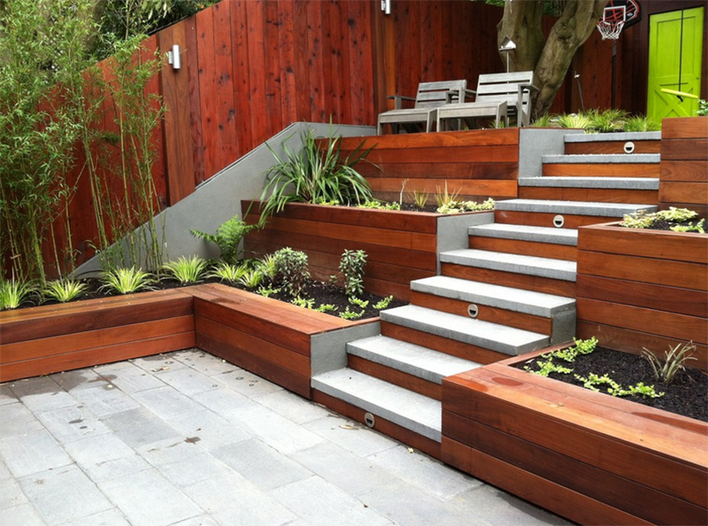 Teraced Planters 11