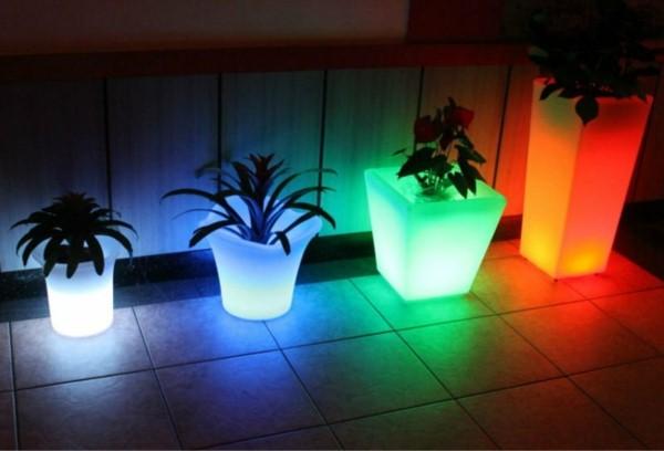 Illuminated Planters 11