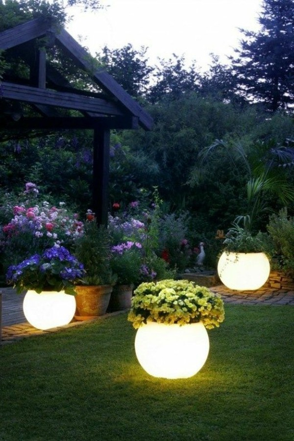 Illuminated Planters 13