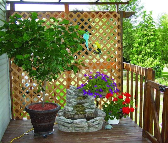Create privacy in your yard on some of these 9 attractive ways for Creating privacy on patio