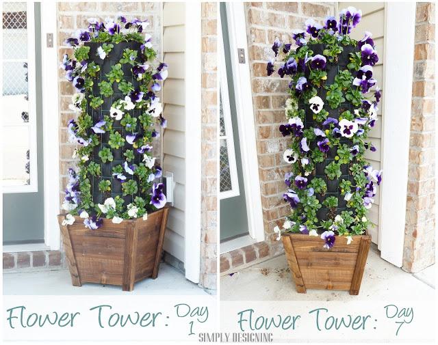 Flower Tower 8
