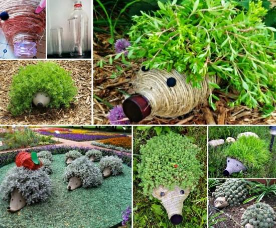 Hedgehog Planters 1