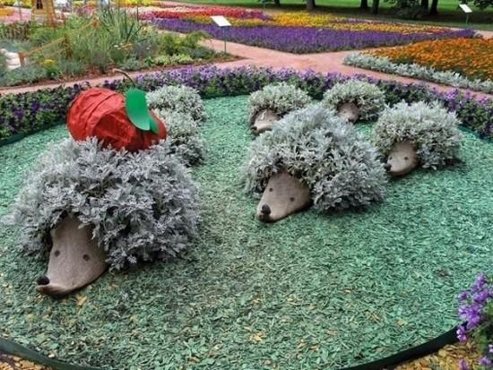 Hedgehog Planters 5