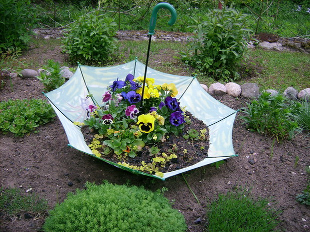 Umbrella Planters 5
