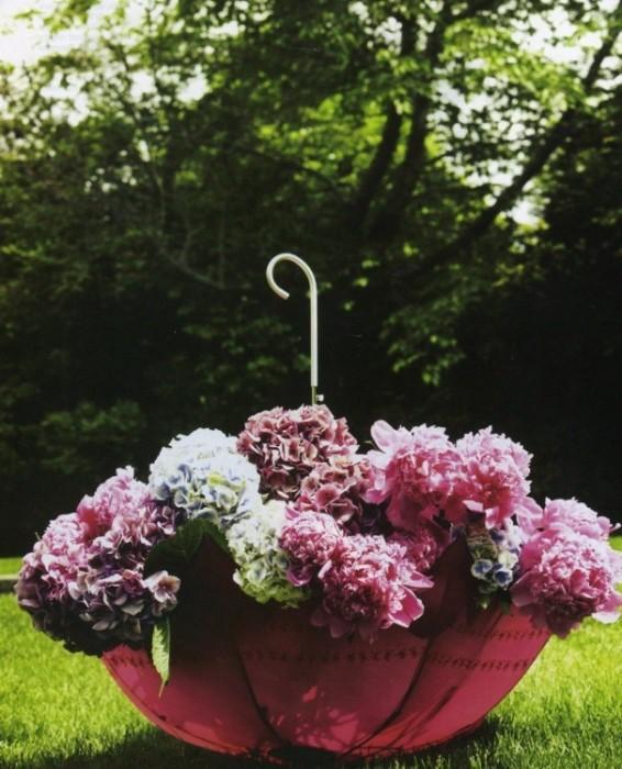 Umbrella Planters 8