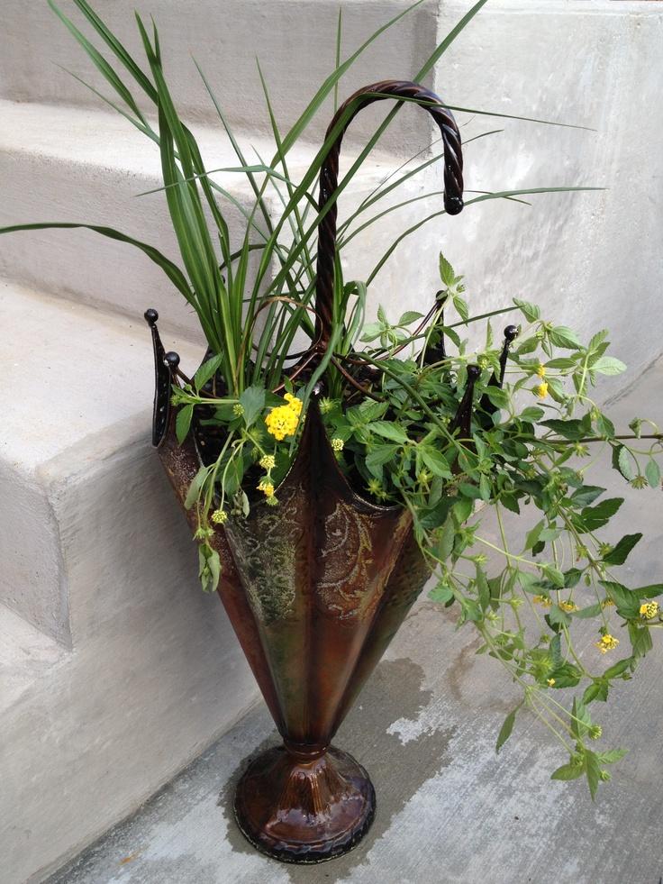 Umbrella Planters 9