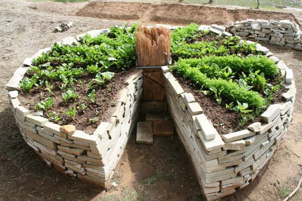 Source: Keyhole Garden Raised Bed