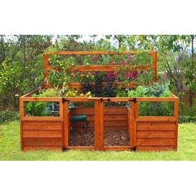 Source: Gated Raised Bed and Trellis