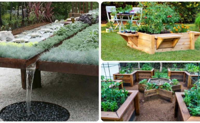 Home garden site for everything page 8 for Unusual raised garden bed designs