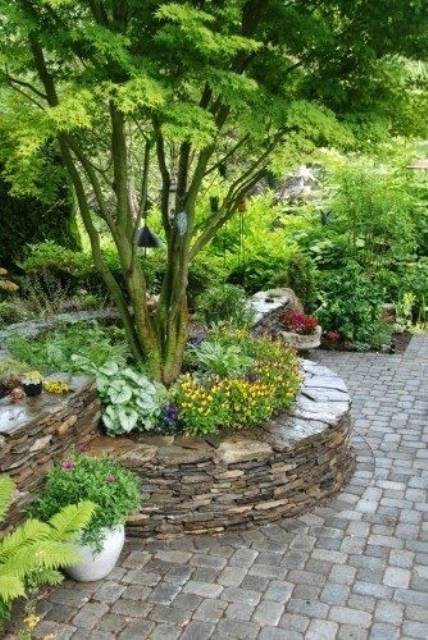 Garden Decorating Ideas 15 Small Flower Gardens Around Trees