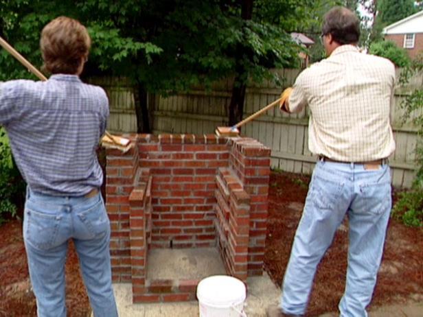 Brick BBQ 6