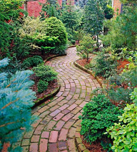 Brick Pathways 4