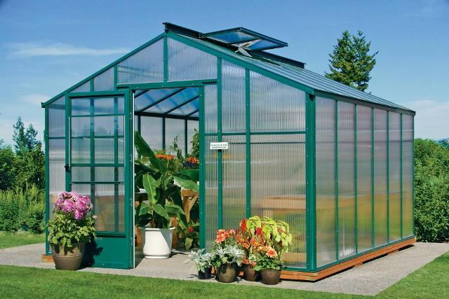 how to grow in a greenhouse year round