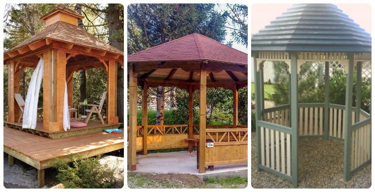 Free Gazebo Plans14 DIY Ideas to Enjoy Outdoor Living