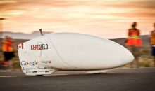 This bike IS the fastest human-powered vehicle on Earth!