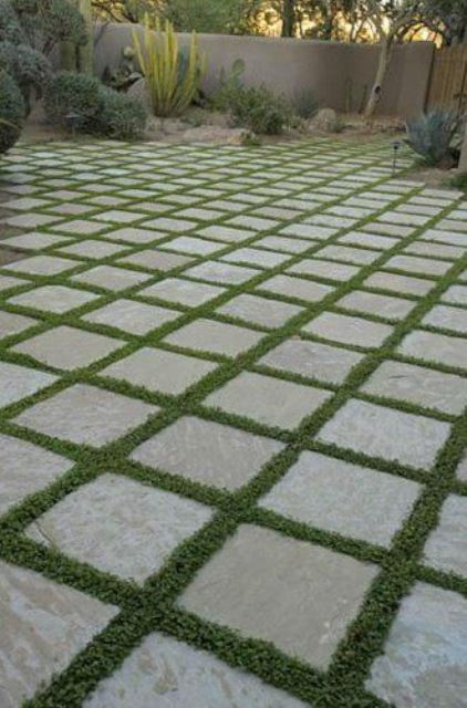 Inspire Yourself How To Make Grass Tiles In Your Garden