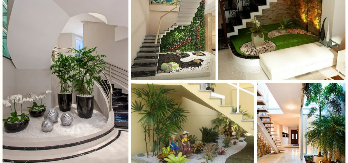 Inspire yourself with these 15 awesome understairs gardens for Garden design under the stairs
