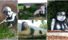Look What Happens When Street Art Cleverly Interact With Nature. Mind Blowing!